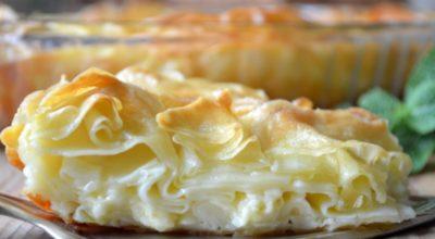 Ачма —  слоёный пирогс нежной кружевной мякотью и хрустящей корочкой