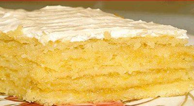 Лимонный торт от Ирины Аллегровой