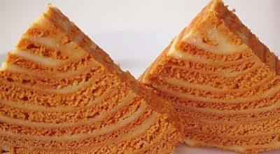 Торт «Карамельный медовик»